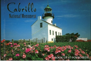 A Book of 17 Postcards Cabrillo National Monument